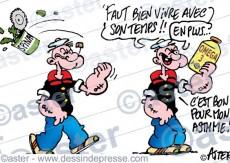 Popeye et les oméga 3