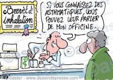 Asthme et pharmacie