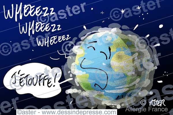 Prévalence de l'asthme dans le monde