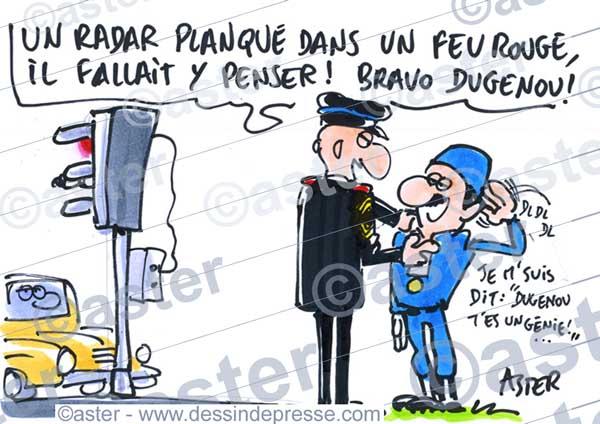 Innovation à la gendarmerie